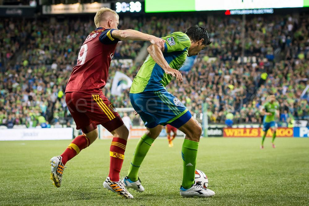 Sounders Stoppage Time Win over RSL