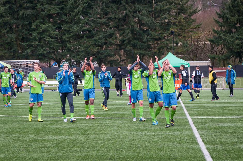 Sounders U-18 Win 4-0