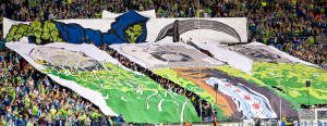 2011 US Open Cup Final - ECS Tifo