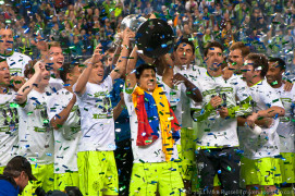 2011 US Open Cup Final - Trophy Ceremony