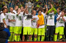 2011 US Open Cup Final: Lamar Neagle Raises the Cup