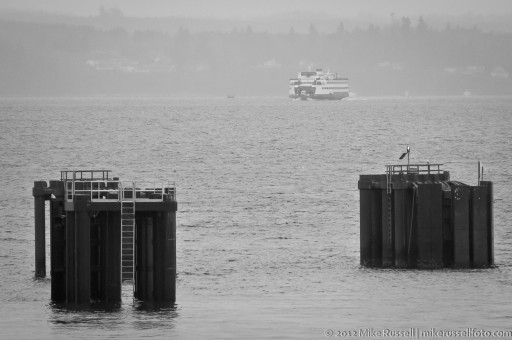 Day 52 - Rainy Ferry
