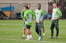 Levesque, Estrada, Zakuani, and Rose