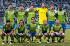 Sounders Starting Eleven
