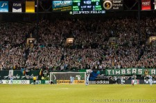 Timbers Army erupts moments after Chance Myers' own goal
