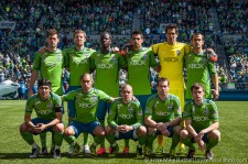 Seattle Sounders starting lineup