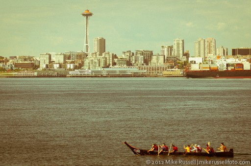 Day 193: 'Old-timey' Seattle