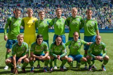 Seattle Sounders starting eleven