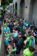 Sounders v Timbers: ECS Arriving