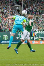 Sounders v Timbers: Scott and Smith