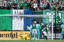 Sounders v Timbers: David Horst scores