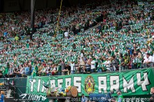 Sounders v Timbers: Timbers Army