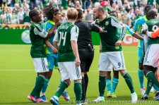 Sounders v Timbers: Boyd not a fan of Montero (who was red carded when I was looking elsewhere)