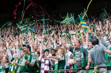 Sounders v Timbers: Timbers Army celebrate first win over arch-rivals in MLS