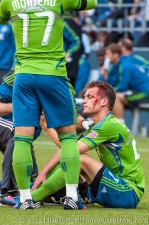 Seattle Sounders: Alex Caskey. It was that kind of match.