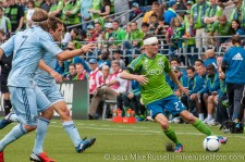 Seattle Sounders: Alex Caskey, bandaged and good to go