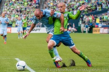 Seattle Sounders: Ozzie gets taken down...