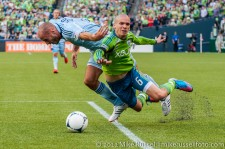Seattle Sounders: ...and no foul was called.