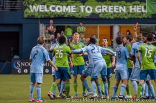 Seattle Sounders: Tempers remained hot when Flaco got ejected