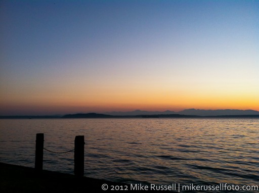 Day 237: Alki Sunset