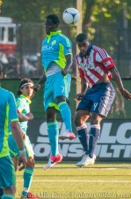USOC Sounders-Chivas: Eddie Johnson and Rauwshan McKenzie