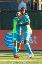 USOC Sounders-Chivas: Eddie and Fredy celebrate