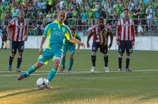 USOC Sounders-Chivas: Osvaldo Alonso chips in the penalty