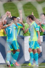 USOC Sounders-Chivas: Celebrating Sammy Ochoa's goal