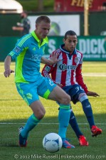 USOC Sounders-Chivas: Andy Rose and Paolo Cardozo