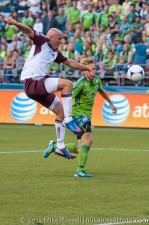 Sounders - Rapids: Conor Casey