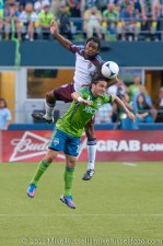 Sounders - Rapids: Mauro Rosales and Marvell Wynne