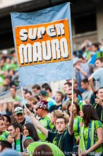 Sounders - Rapids: 'Super Mauro'