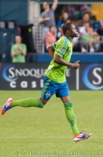 Sounders - Rapids: Steve Zakuani returns 14 months after the broken leg