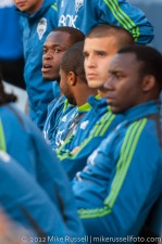 Sounders - Rapids: Steve Zakuani in the 18