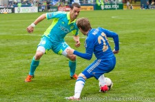 Sounders-Chelsea: Zach Scott and Marko Marin