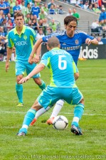 Sounders-Chelsea: Ozzie and Benayoun