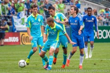 Sounders-Chelsea: Evans, Gonzalez, Alonso, and Benayoun
