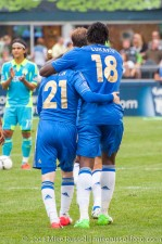 Sounders-Chelsea: Lukaku and Marin