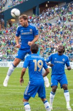 Sounders-Chelsea: Ivanovic clears