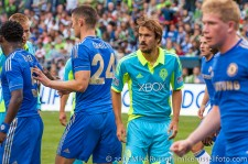 Sounders-Chelsea: Roger Levesque