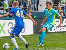 Sounders-Chelsea: George Saville and Mike Seamon