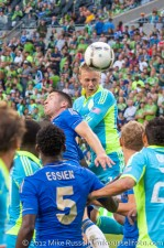 Sounders-Chelsea: Andy Rose