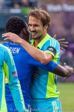 Sounders-Chelsea: Essien and Roger Levesque