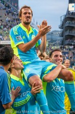 Sounders-Chelsea: Roger's Pirate Face