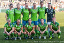 Sounders Women: Starting 11