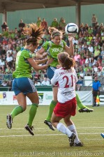 Sounders Women: Kate Deines and Megan Manthey