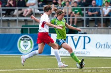 Sounders Women: Megan Manthey scores