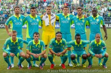 CCL: Sounders-Caledonia: Seattle Sounders starting 11