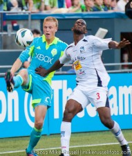 CCL: Sounders-Caledonia: Andy Rose