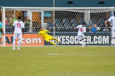 CCL: Sounders-Caledonia: Kareem Joseph gets one back for Caledonia